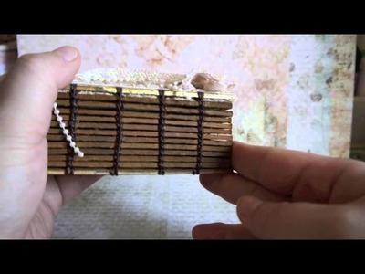 Music In A Book_My First Coptic Stitch Bookbinding