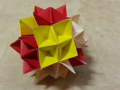 Origami Polyhedron Easy Step by step