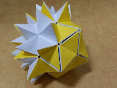 Origami PopUp Star Step by step