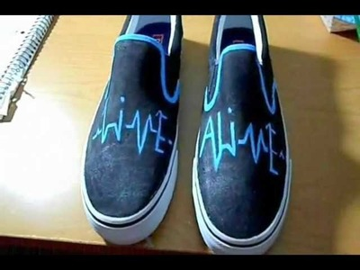 Painting Custom Shoes!
