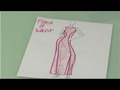 Princess Seams in Fashion Design : Princess Seam Fashion Design for Fitted Garments