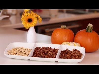 Pumpkin Seed Recipes, Roasting Seeds 3 Ways, Yum How To