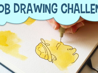 Random Shapes Drawing Challenge | Drawing Out Of Your Comfort Zone