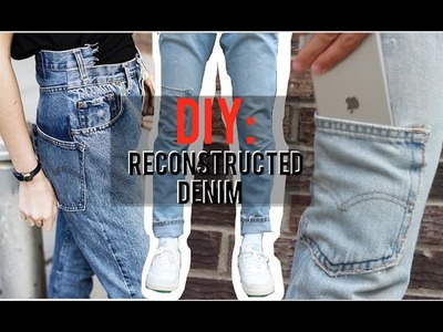 Reconstructed Denim! (Tutorial, Vetements.Off White style)