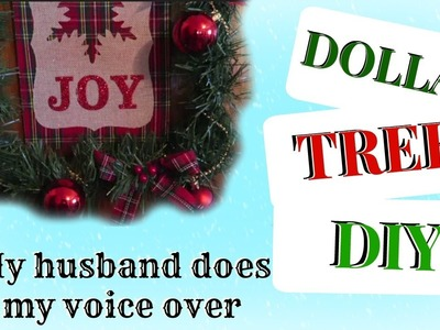 Vlogmas Day 7: Husband Does My Voice-Over- DIY Christmas Wreaths
