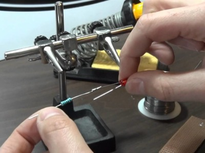 XRobots - How To Solder simple electronic joints, LEDs and resistors
