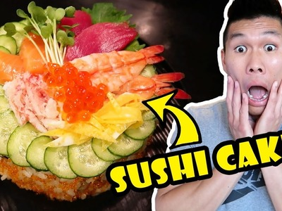 8-LAYER SUSHI CAKE DIY How To Make || Life After College: Ep. 542