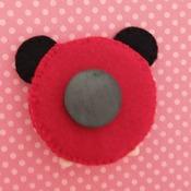 Adorable Felt Handmade Tsum Tsum Characters - Mickey Mouse (Fridge Magnet)
