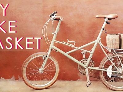 DIY a simple rear Bike Basket