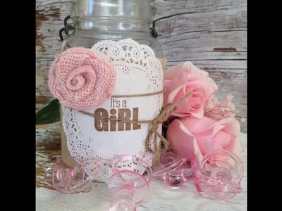 Diy baby shower decoration ideas for a girl