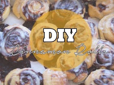 DIY CINNAMON ROLLS ???? Cómo hacer ROLLOS de CANELA!! ✅  Top Tips & Tricks en 1 minuto