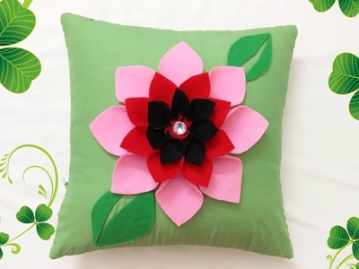 DIY: Easy Handmade Cushion Cover Design