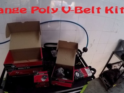 DIY.How to. # Change Poly V-Belt Kit on Alfa Romeo 159 Ti 1750 TBi Novitec Nero