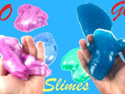 DIY How To Make Slime Without Glue, Face Mask, Borax or Hand soap!! Guar Gum Slime