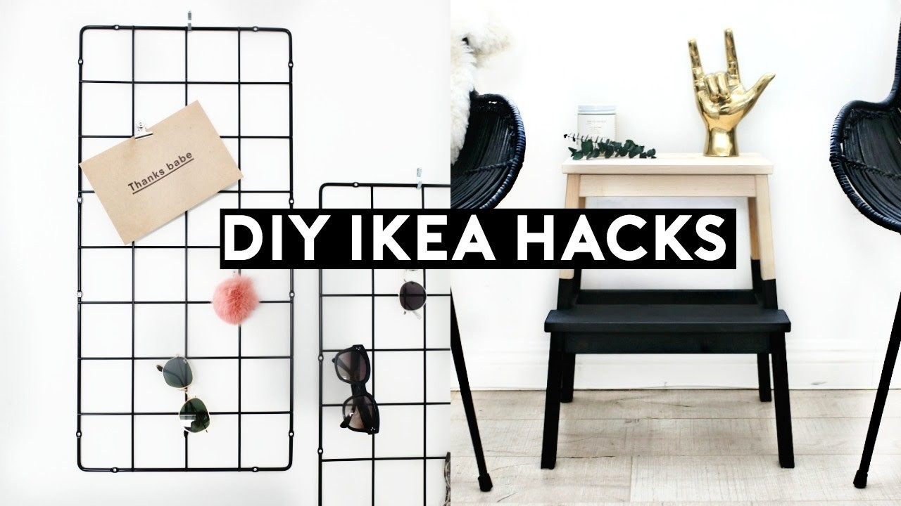 diy ikea hacks diy minimal room decor simple cheap. Black Bedroom Furniture Sets. Home Design Ideas