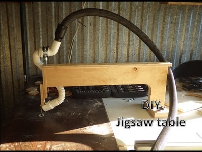 DIY jigsaw table- stolik do wyrzynarki (SUBTITLES) ????