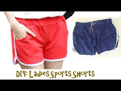 DIY: Ladies Sports shorts, Simplest and Quick DIY