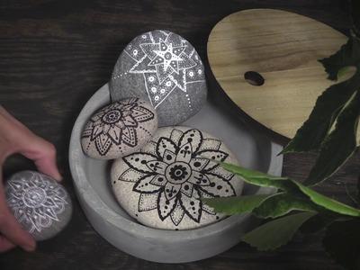 DIY Panduro – Doodle on stones