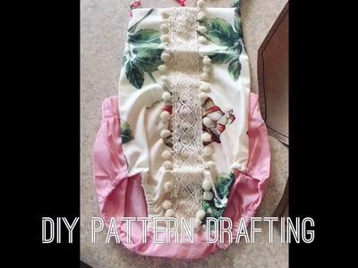 DIY PATTERN DRAFTING\\DIY BABY ROMPER