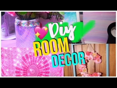 DIY ROOM DECOR! SO TUMBLR AND EASY! [IND]