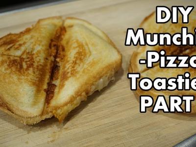 DIY Stoner Munchies Part 1 Pizza Toasties
