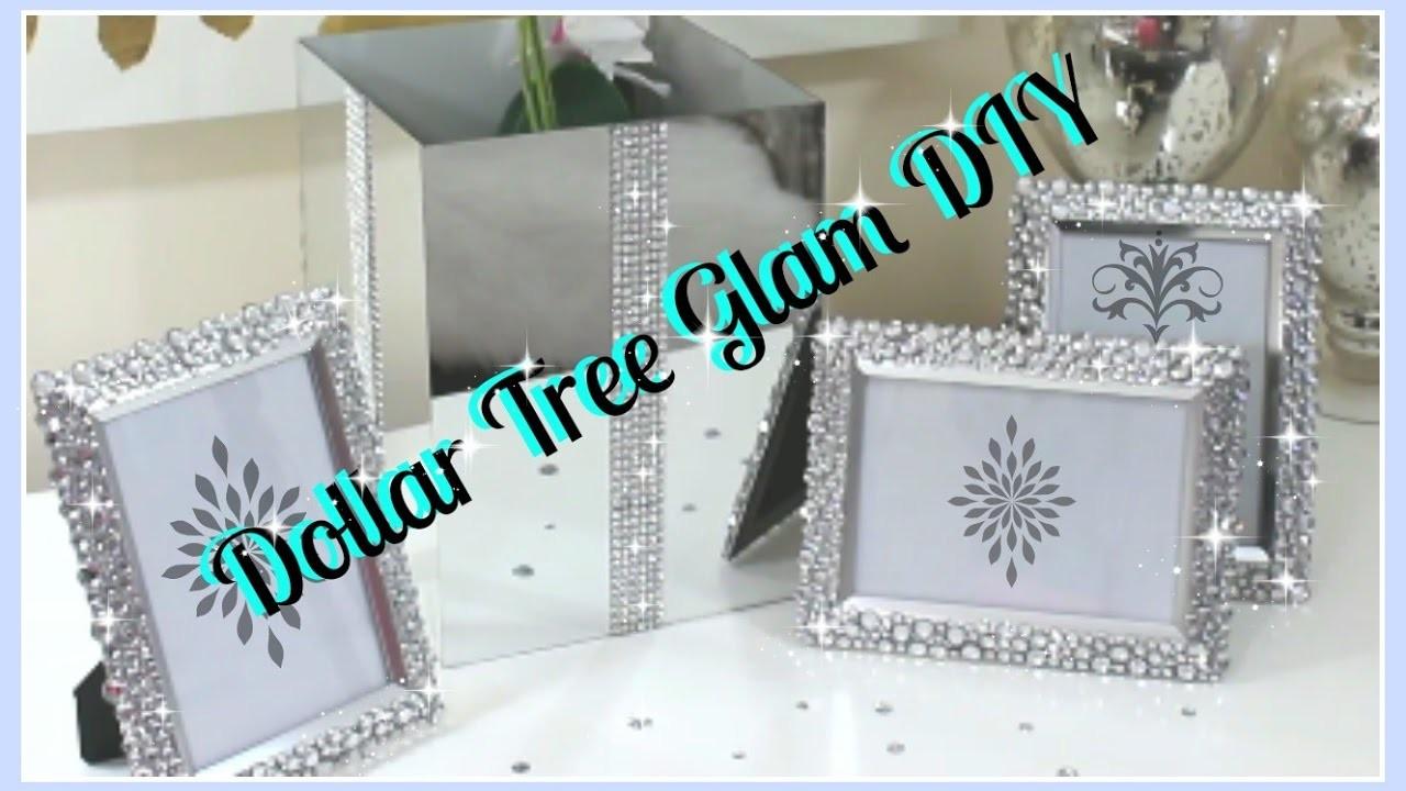 Dollar Tree Diys Bling Vase Amp Frames Diy 2017