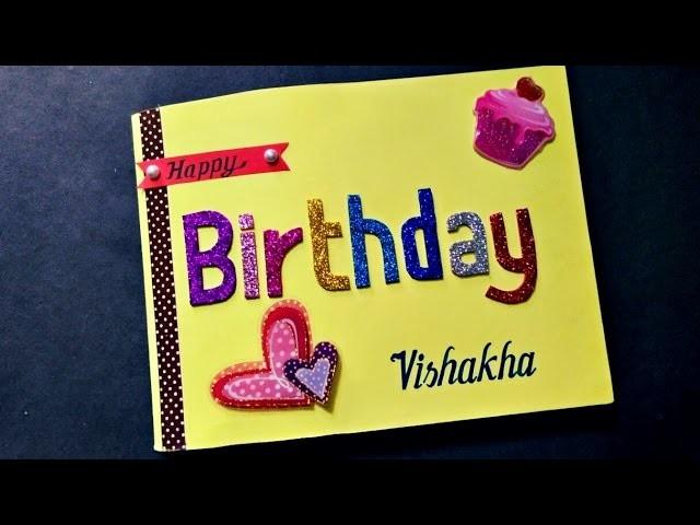 HANDMADE CARDS  BIRTHDAY CARD FOR BEST FRIEND