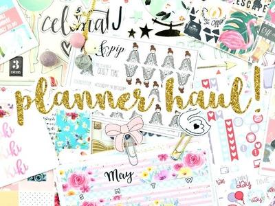 Haul! Planner Stickers, Accessories, & Fun DIY Supplies