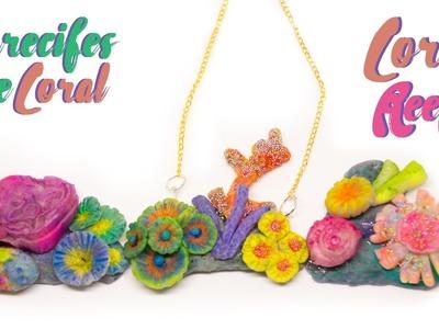 Haz tus propios Arrecifes de Coral ♥ PORCELANA FRÍA ♥ Joyería. Accesorios de Mar | TUTORIAL