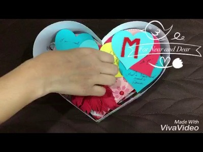 Heart shape Scrapbook