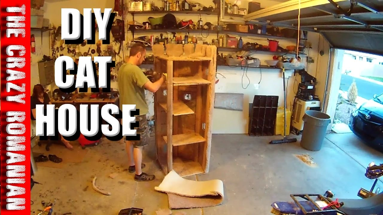 How to DIY heavy Duty Cat Tree - Tower - Climber for a CAT