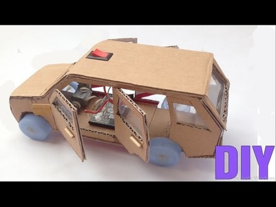 How To Make Range Rover DIY - Electric Car Very Easy