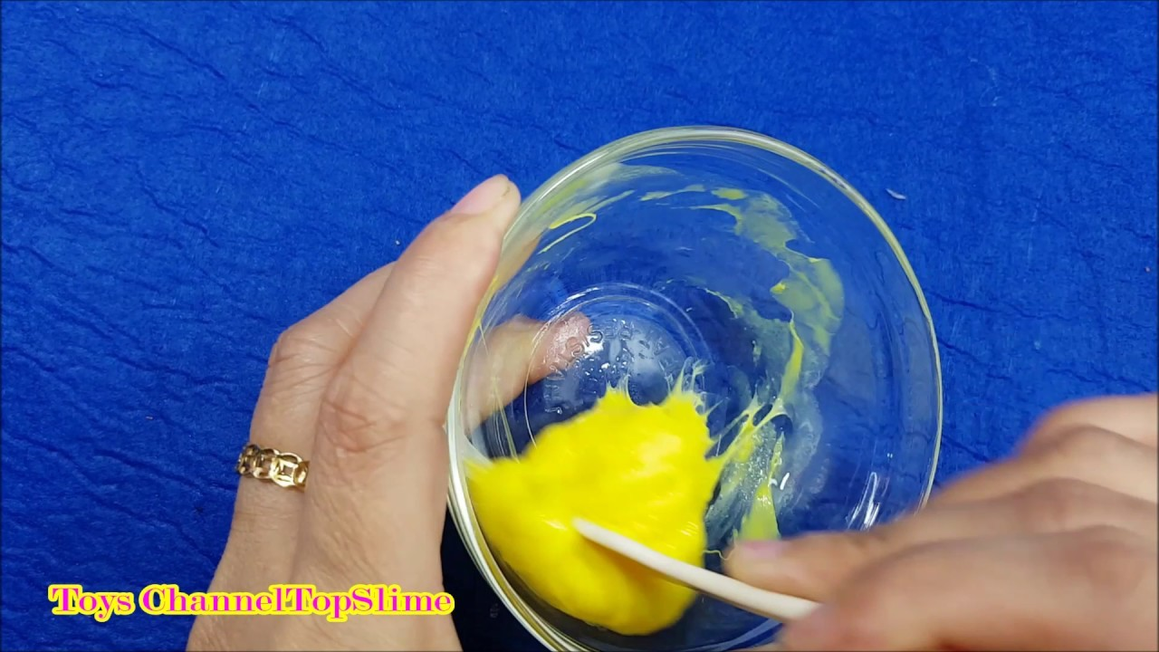 slime how to make easy