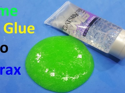 How to Make Slime without Glue No Borax Easy