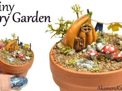 How To: Tiny Fairy Garden - Polymer Clay Tutorial
