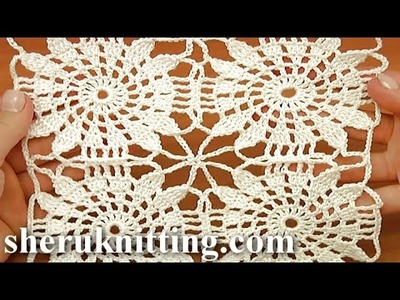 Join Square Motifs As You Go Tutorial 21 Part 2 of 2