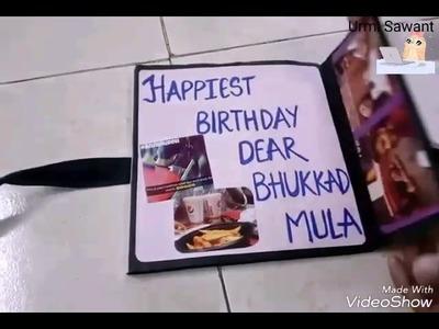 Mini Album | Diy | Bestfriend Birthday Gifts Ideas | by Urmi Sawant