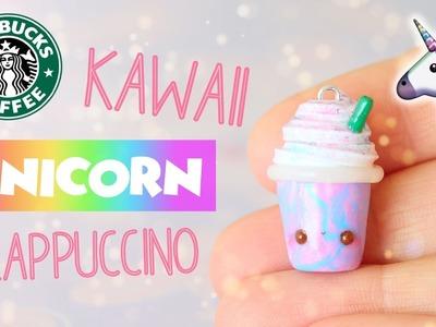 Miniature Kawaii Unicorn Frappuccino│Polymer Clay Tutorial