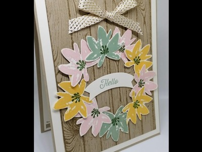My Card that was featured in Stampin Up Succeed Weekly!! Tutorial on how i made it