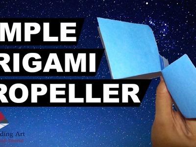 Origami Propeller Best Toys Easy Rotating