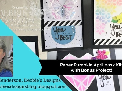Paper Pumpkin April 2017 Plus Bonus Sneak Peek Project!