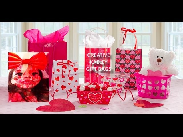 valentine crafts ideas gift bag goodie bag gift baskets loot bags 3167