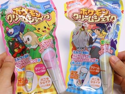 Pokemon Cream Shake DIY Candy