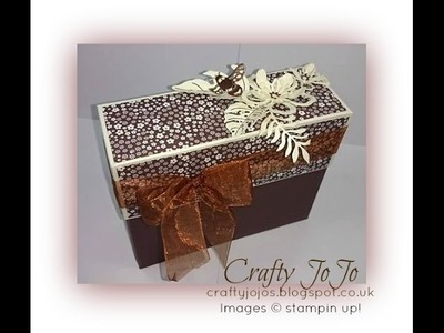 Stationary Set in a  Gift Box - Tutorial -