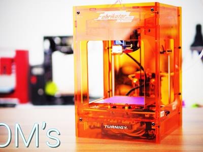 As cheap as it gets: Turnigy Fabrikator Mini 3D Printer review! (TinyBoy)