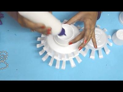 Christmas Craft | How to Make Christmas Tree | Thermocol Craft | Kids Craft | Nidhi Jain