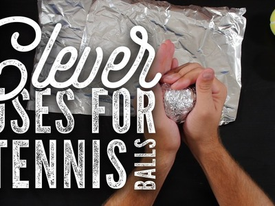 Clever Use For Tennis Balls - DIY Hack
