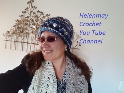 Crochet Easy Beginner Ribbed Winter Beanie Hat DIY video tutorial