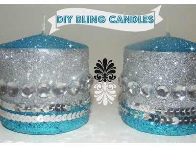 DIY - BLINGED OUT CANDLE (ALL THAT GLITTERS EP 3)