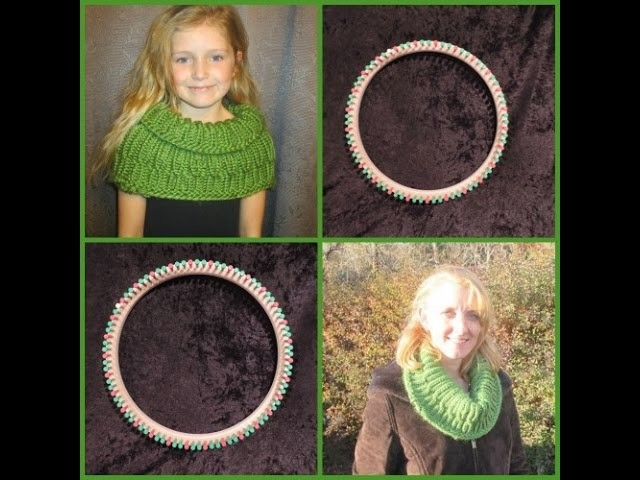DIY: Christmas Cabled Cowl Beginning to End Step by Step